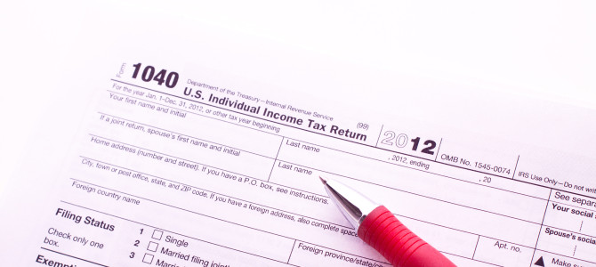 Doing your own tax return?