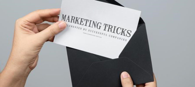 Sales and Marketing Tricks